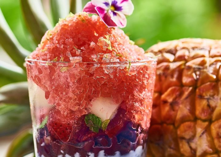 Strawberry Hibiscus Shave Ice