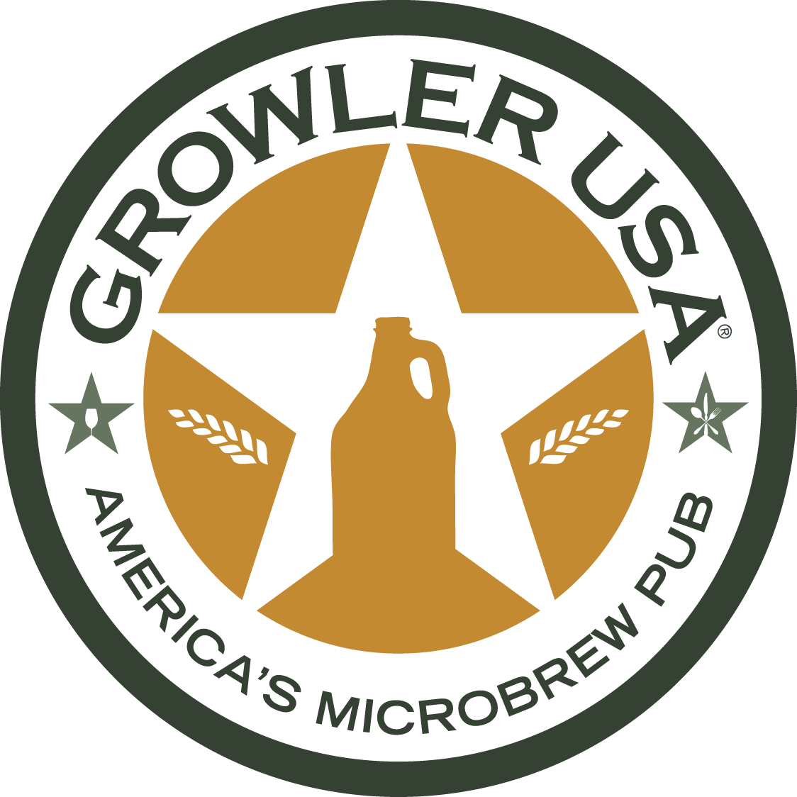 Growler Round Logo